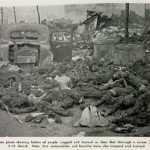 Photographs – Tokyo, Japan, after firebombing raids by American bombers, March 10, 1945.