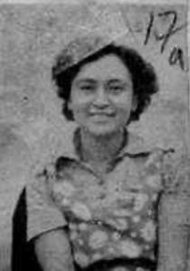 Margulis, Grace Miriam.