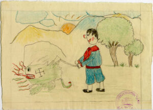 Children Depict the War