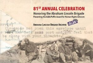 81st Annual Celebration honoring the Abraham Lincoln Brigade