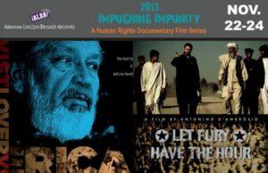 Impugning Impunity | ALBA Human Rights Documentary Film Festival 2013
