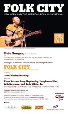Folk City Music Concert