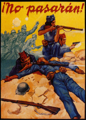 The Spanish Civil War Poster